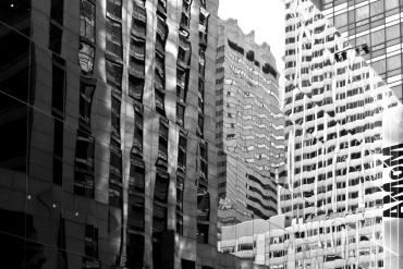 Luci e geometrie a New York © Anna Koj