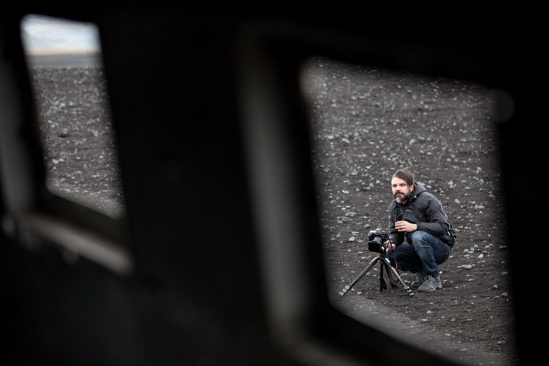 Fotografare il DC-3 abbandonato in Islanda