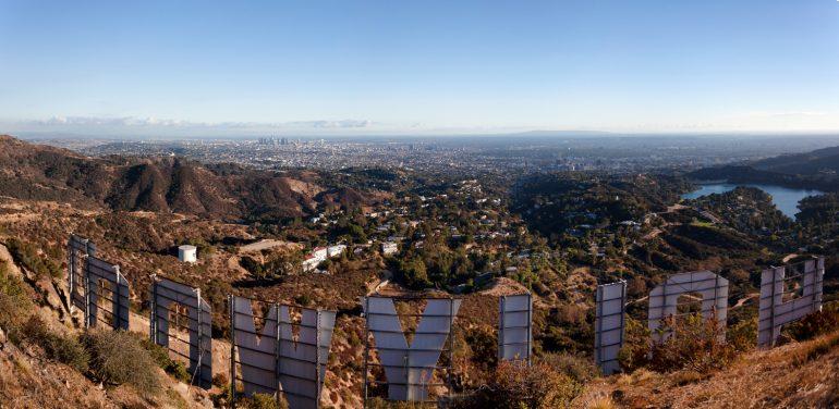 Hollywood Sign: la panoramica. www.ishoottravels.com your ticket to travel photography. Blog di fotografia di viaggi. © Galli / Trevisan
