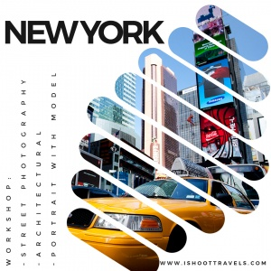 New York. WORKSHOP FOTOGRAFICO DI STREET PHOTOGRAPHY, ARCHITECTURAL PHOTOGRAPHY E RITRATTO. www.ishoottravels.com